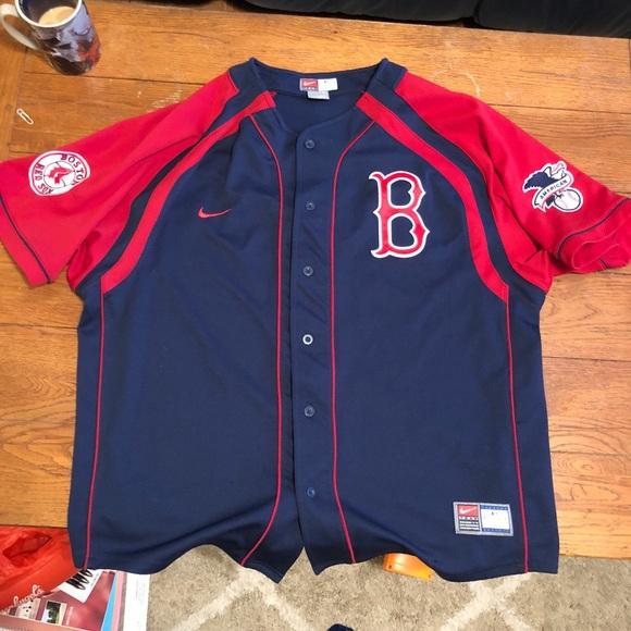 the best attitude fde14 7e6da Boston Red Sox Nike Jersey